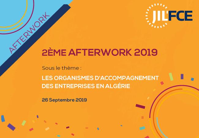 La rencontre traitera des «Organismes d'accompagnement des entreprises en Algérie» : Jil'FCE organise son deuxième afterwork 2019