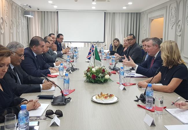 Coopération économique algéro-britannique : Le secrétaire d'Etat britannique au commerce international reçu par le Forum